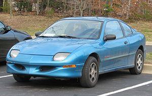 Pontiac Sunfire - Image: 95 99 Pontiac Sunfire coupe