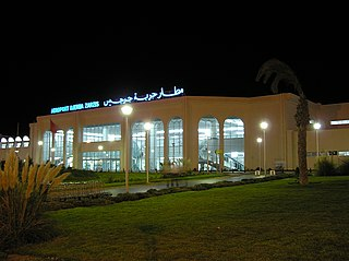 Djerba–Zarzis International Airport airport in Tunisia