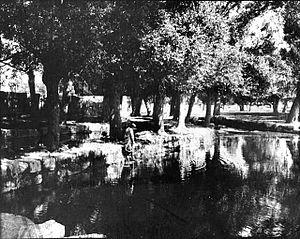 Ras al-Ain, Lebanon - Ras al-Ain in 1900 (Gertrude Bell Archive, Newcastle University)