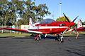 A23-058 Pilatus PC-9A RAAF Roulettes Aerobatic Team (8188051745).jpg