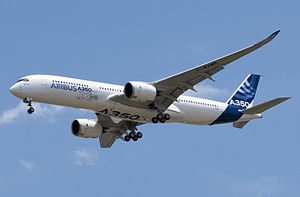 Maiden flight - Airbus A350 XWB on June 14, 2013