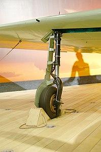 A6M2 Model 21 Zero MfrNo 500- starboard landing gear detail.jpg