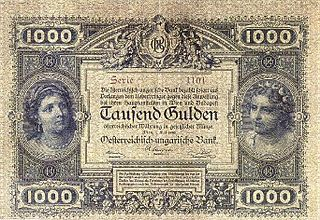 Austro-Hungarian gulden currency