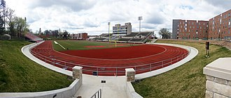 University of Central Missouri - Audrey J. Walton Stadium overlooking the Northeast corner