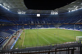2010 UEFA Europa League Final - The HSH Nordbank Arena was selected as the venue for the 2010 final in March 2008.