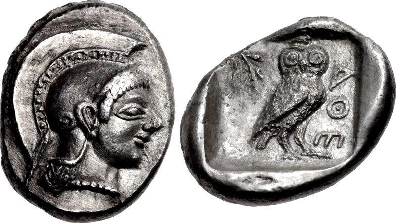 ATTICA, Athens. Circa 510 to 500-490 BC