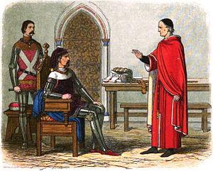 William Gascoigne - Sir William refuses to sentence Archbishop Scrope