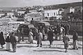 A DELEGATION OF SETTLERS FROM ZICHRON YA'ACOV AFTER THEIR ARRIVAL FOR A FRIENDLY MEETING AT THE NEIGHBORING VILLAGE OF SUBRIN. משלחת מתיישבים יהודים מD814-012.jpg