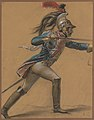 """A French Dragoon, Study for """"The Revolt of Cairo"""" MET DP251481.jpg"""