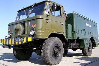 GAZ-66 - GAZ-66 tanker