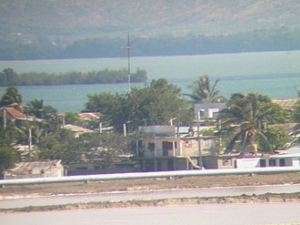 Caimanera - Image: A GI took this photo of cuban houses from his observation post