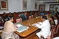 A group of women from Jeevana Jyothi Zilla Samakhya of Karim Nagar District of Andhra Pradesh led by Shri Ponnam Prabhakar, M.P., calls on the Lok Sabha Speaker, Smt. Meira Kumar, in New Delhi on March 10, 2011.jpg