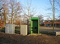 A small green hut - geograph.org.uk - 1127536.jpg