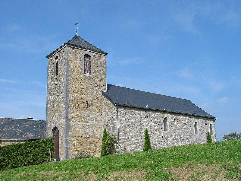 Abée   (Belgium), the Saint Donatus' chapel.