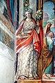 Abbazia di San Salvatore (Abbadia San Salvatore), Cappella della Madonna della Pieve, affreschi di Francesco Nasini e Antonio Annibale Nasini 08.jpg