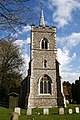 Abbess Roding - St Edmund's Church - Essex England - church from west.jpg