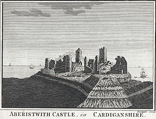 Aberistwith Castle, in Cardiganshire