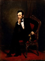 George Peter Alexander Healy: Abraham Lincoln
