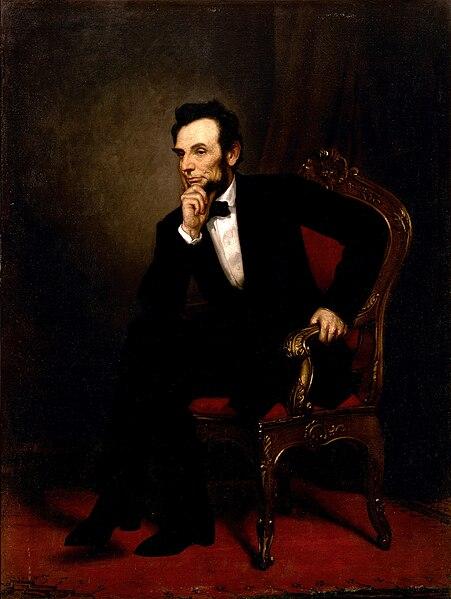 Ficheiro:Abraham Lincoln by George Peter Alexander Healy.jpg