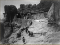 Acoma Rock and waterhole, 1934.png