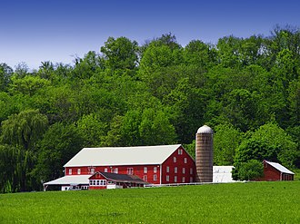 Adams Township, Snyder County, Pennsylvania - An Adams Township farm