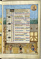 Additional 18851, f. 5 calendar page for August.jpg