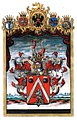 Adelsdiplom - Höger von Högersthal 1830 - Wappen.jpg