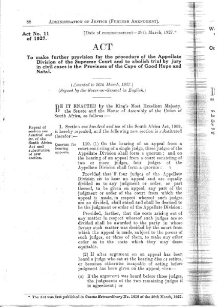 File:Administration of Justice (Further Amendment) Act 1927.djvu