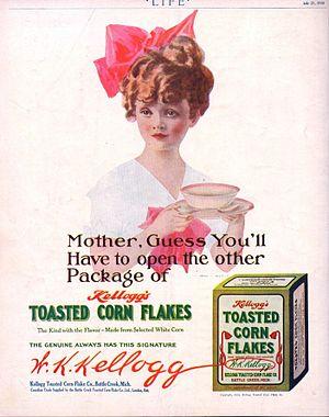 """English: Advertisement for Kellogg's """"Toa..."""