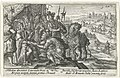 Aeneas bezoekt koning Latinus Speculum Aeneidis Virgilianae (serietitel), RP-P-OB-16.023.jpg