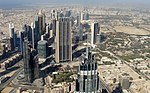Aerial photographs of Dubai (taken from Burj Khalifa ) 02.jpg