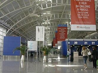 Cagliari Elmas Airport - Check-in hall