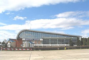 Suceava International Airport - Image: Aeroportul Suceava 1