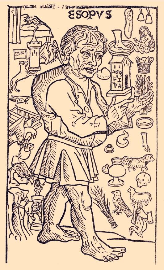 Aesop woodcut Spain 1489