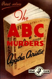 <i>The A.B.C. Murders</i> 1936 Poirot novel by Agatha Christie