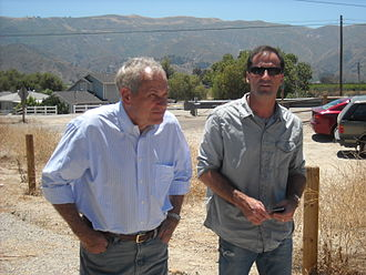 Atlas Shrugged: Part I - John Aglialoro (left) and Harmon Kaslow (right) produced the film.