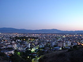 Agrinio, Etolio-Acarnania Prefecture, Greece - city by evening.jpg