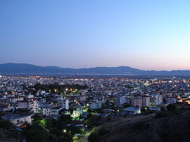 Agrinio, Etolio-Acarnania Prefecture, Greece - city by evening.jpg