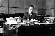 Ahmad Matin-Daftari in his office-1938.jpg