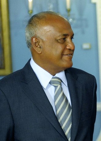 Minister of Foreign Affairs (Maldives) - Image: Ahmed Naseem (cropped)
