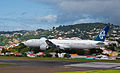 Air New Zealand's new 777-300ER visits Wellington, 9th. Feb. 2011 - Flickr - PhillipC (4).jpg