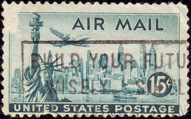 Archivo:Air mail. 15 c.jpg