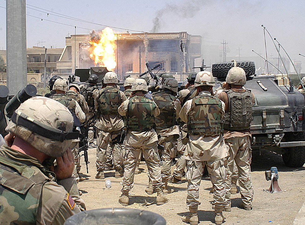 Airborne and Special Forces Uday-Qusay raid, 2003