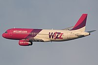 HA-LPJ - A320 - Wizz Air