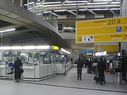 Terminal 1 old check in point