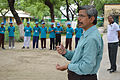 Ajoy Kumar Ray Delivers Inaugural Speech - Summer Camp - Nisana Foundation - Sibpur BE College Model High School - Howrah 2013-06-07 8688.JPG
