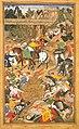 Akbarnama - Khan Kilan at Sirohi.jpg