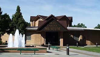 Chamberlain, South Dakota - Akta Lakota Museum