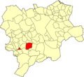 Albacete Bogarra Mapa municipal.png