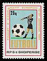 Albania 1984-06-12 25q stamp - UEFA Euro 1984.jpg